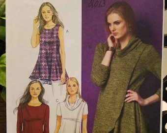 Butterick Pattern 5954 pullover Tunic  Size Xsm-Sml-Med new uncut 2013