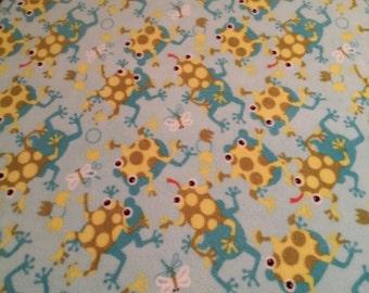 Leapfrog Fleece Blanket