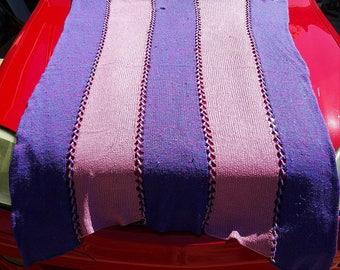 Purple & Pink Afghan - SALE: 66% OFF!