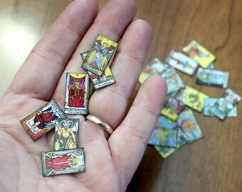 78 Cards - Miniature Tarot Deck Minor and Major Arcana