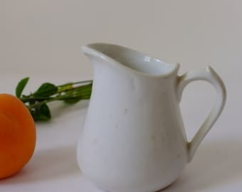 Milk jug vintage milk can vintage, creamer, vet,