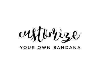 Reversible Dog Bandana | Customize Your Own