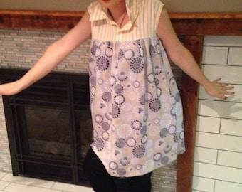 Vintage Inspired Shirt Dress