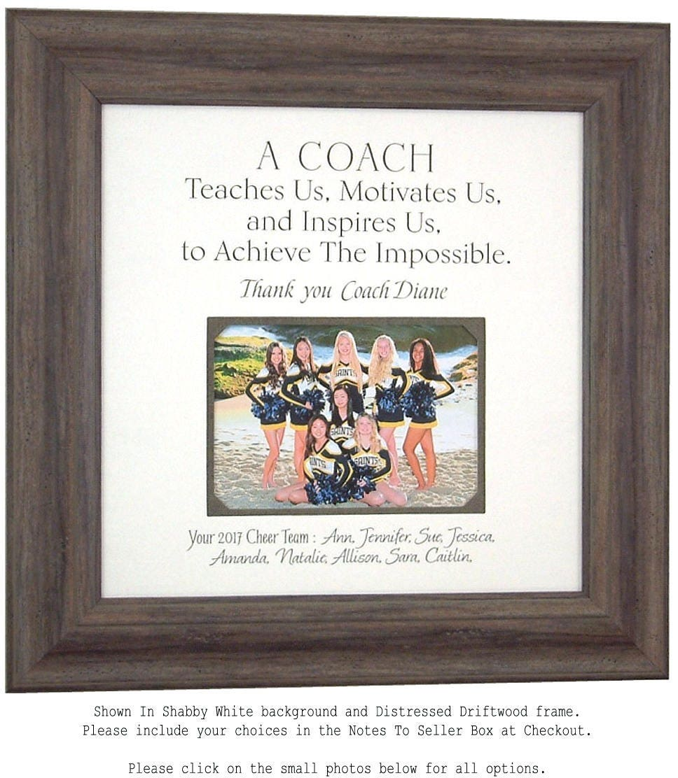 Gift for Cheer Coach, Cheer Coach Gift, Cheerleading Coach Gifts ...