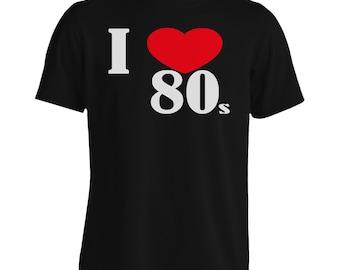 I Love 80s Men's T-Shirt gg56m