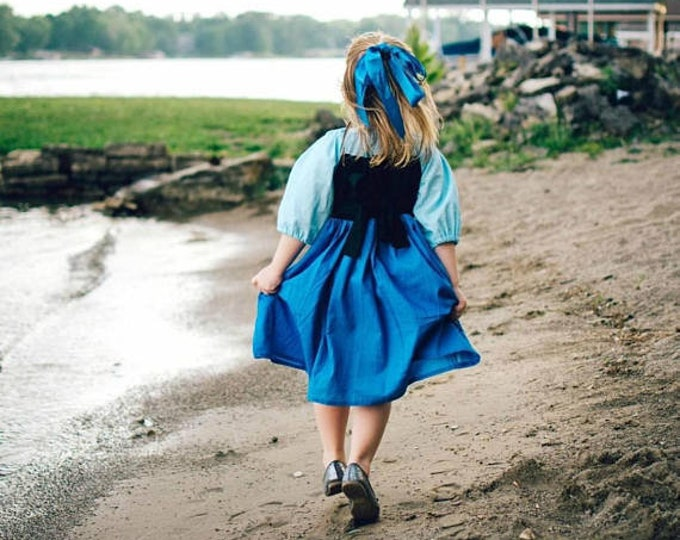 Ariel The Little Mermaid by the Sea Dress