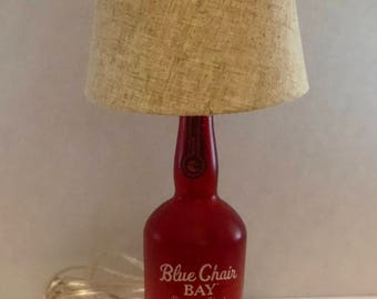 Blue Chair Bay Rum Lamp - Red