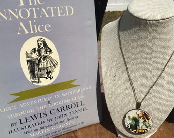 Go Ask Alice Collection:Alice Wood Pendant Necklace