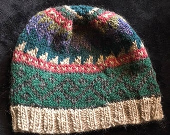 Hand-Knit Hat