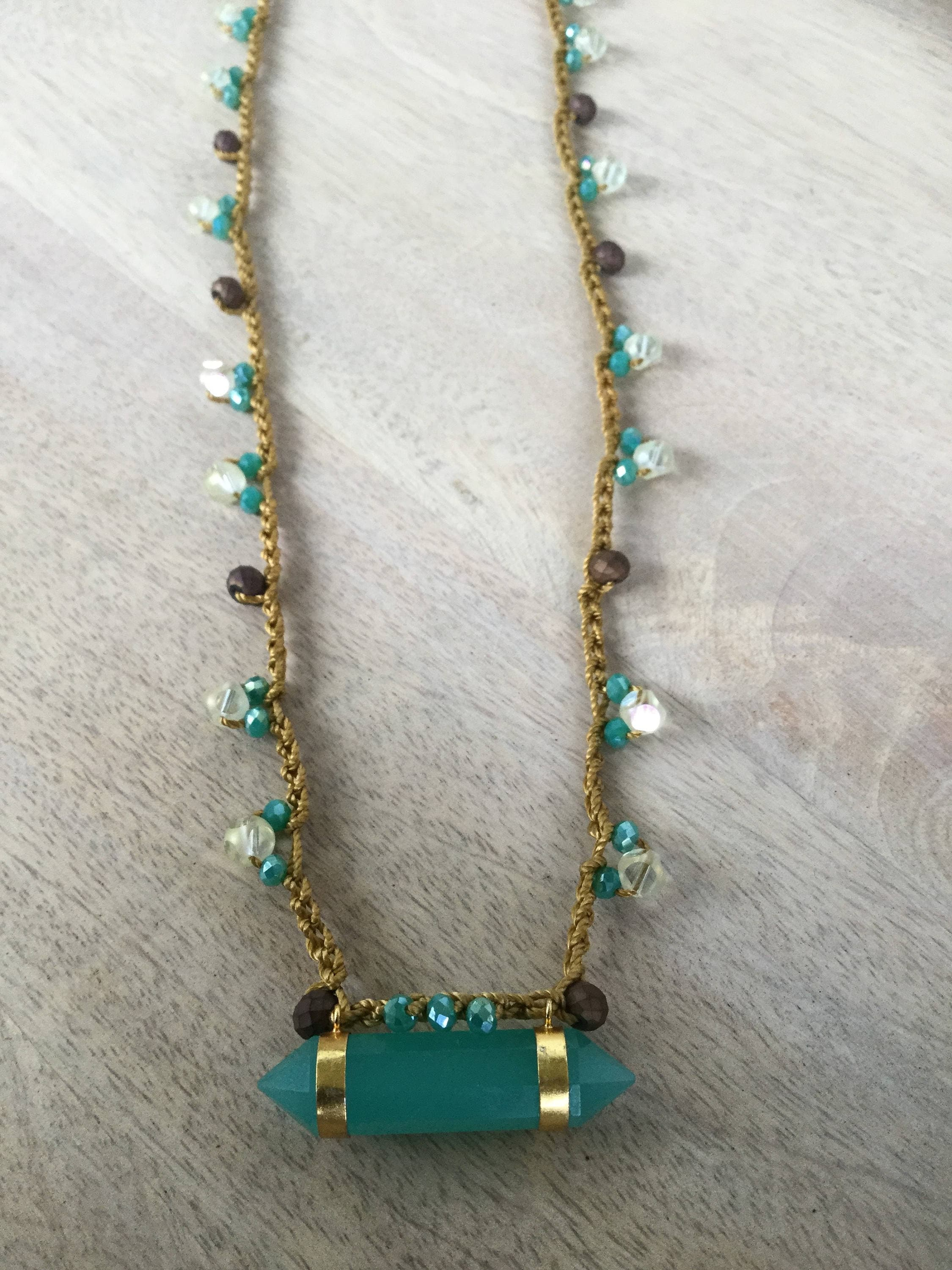 jewellery chalcedony brooklyn and auree vermeil necklace pendant aqua gold