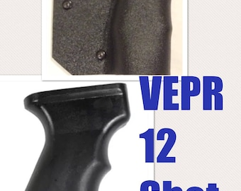 Featureless California Fin Grip Vepr 12 Shotgun Legal Compliant Kydex Wrap Free Shipping!!!  FREEDOM Fins Shark Fin ny