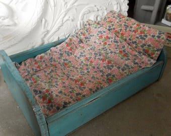 Bed doll vintage blue Nordic LCV *.