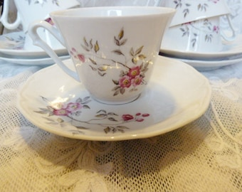 Fine porcelain tea / coffee service from Sologne