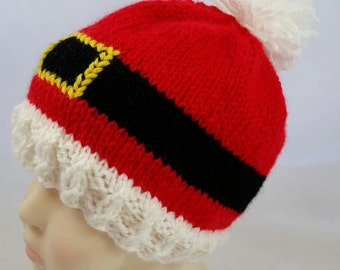 Santa Hat - Christmas Hat - Gifts for Kids - Gift for Baby - Christmas Baby Hat - Kids Christmas Hat - Adult Christmas Hat - Adult Santa Hat