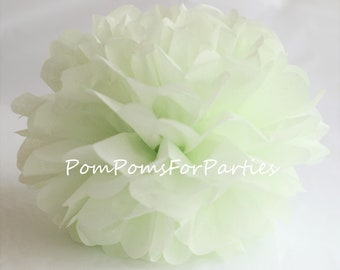 1 High Quality MINT SUGAR Tissue Pom Pom - Choose any of 60 colours - Hanging  Paper flower - Tissue paper balls - Tissue paper pom poms