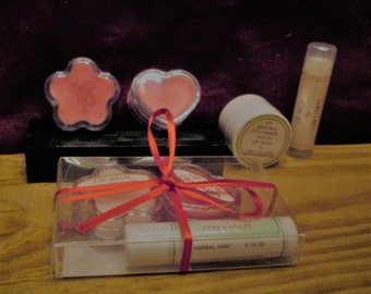 100% All Natural Lip Balm (package of 3)