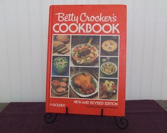Betty Crocker's Cookbook, Vintage Cookbook, 1982