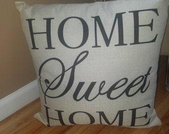 Throw pillows/Accent pillows/Pillows/Decorative pillows/Home Sweet Home pillow/Compass pillow/Housewarming gift/Gift for her/Pillow