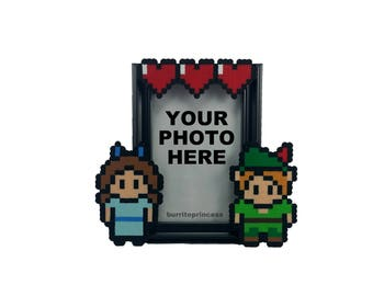 Peter Pan and Wendy Couples Picture Frame - Peter Pan Wedding Gift - Peter Pan Anniversary Gift - Peter Pan Valentine's Day Gift