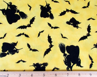 Per Yard,  Witches Brew Ha Ha Fabric From Quilting Treasures