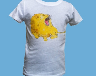 T-Shirt with lion Ludwig