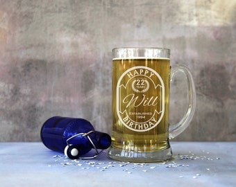 Personalised 2 Pint Stein Tankard