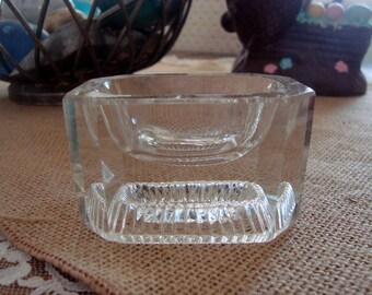 Salt Cellar Open Master Large Vintage Crystal