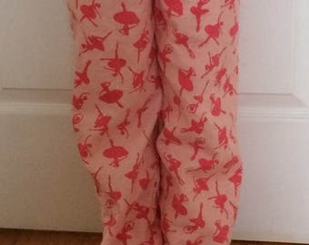 Custom Size Ballerina Warm Up / Cover Up Pants