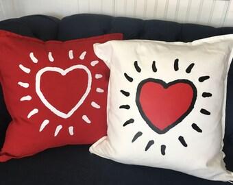 Love Heart Pillows