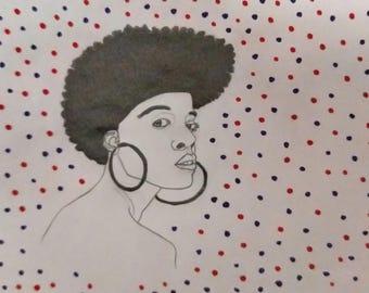 Movement Portrait Fine Art Print