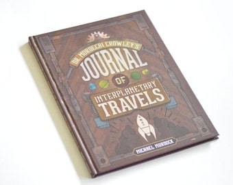 Journal of Interplanetary Travels - 100 pg Hardback book -