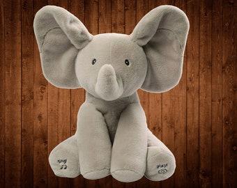 Baby Animated Flappy The Elephant Plush Toy