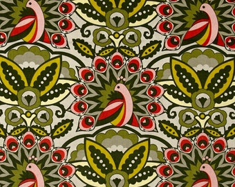 Feathers and Fancy  by Benartex Cotton Quilt Weight   By the Yard