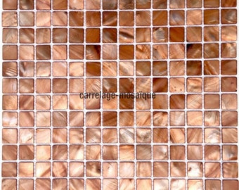 Nacre-Mosaique shower Italian Odyssey Brown