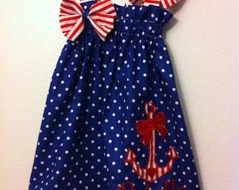 Anchor dress