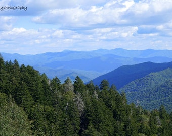 Smoky Mountains Photographic Print