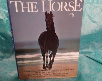 THE ENCYCLOPEDIA of the HORSE, vintage, book, reference, horse, equestrian, collectibles, picture book