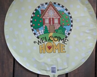 """18"""" Welcome Home Mylar Foil Balloon"""