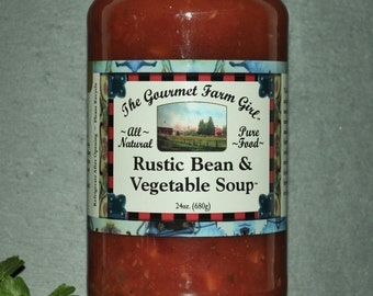 Rustic Bean & Vegetable Soup