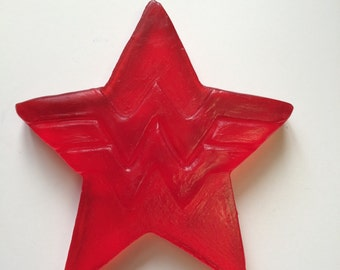 Wonder Woman Strawberry Soap