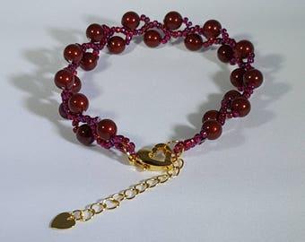 Swarovski Pearl Vine Bracelet