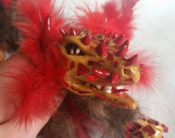 Lung Dragon Art Doll