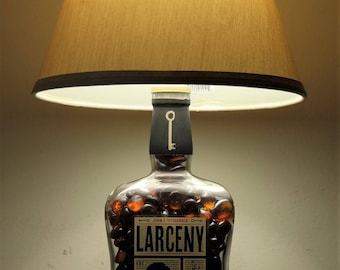 Larceny Bottle Lamp