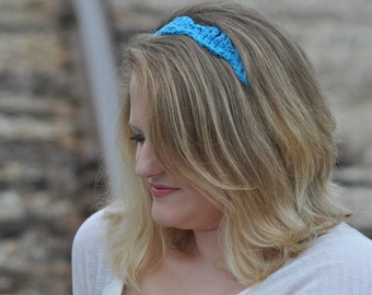 Adjustable Cotton Headband Womens Hairbands, Your Color Choice