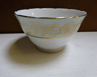 English Bone China Open Sugar Bowl/Laurie & Co London/Vintage