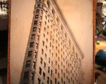 Wall Art -Flatiron Building 4x6 Orginal image
