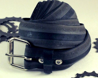 Bicycle Tire Belt - Mild Road Tread - Black/Grey - 1-1/4 Inches Wide