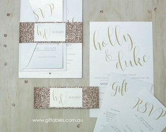 NEW - Love Letters Invitation