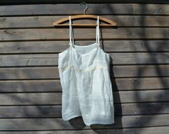 Linen slip dress, Linen Shirt Dress, Summer Dress,Nightdress, pajamas