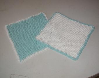 Knitted Dishcloths/Wash Cloths